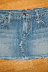 Abercrombie & Fitch krótka jeansowa spódnica roz 36...