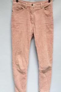 Spodnie Sztruksowe Różowe Brudny Róż Monki XXS 32...