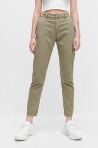 Nowe spodnie Reserved 44 XXL bojówki zielone militarne wojskowe...