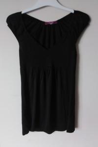 czarna bluzka 36 S Julies Closet z USA elegancka