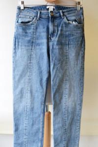 Spodnie H&M M 38 Jeans Dzins Wyższy Stan Jeans...