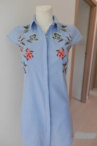 Sukienka Koszulowa Szmizjerka Rozpinana Bawełniana Atmosphere XS