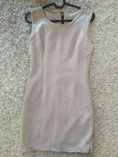 Suknie i sukienki sukienka nude XS S