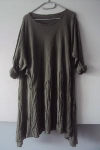 włoska sukienka tunika z kieszeniami...