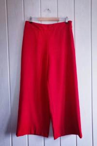 Culoty czerwone Zara