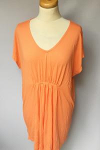 Sukienka L 40 Pomarańczowa Neon Oversize KappAhl XLNT...