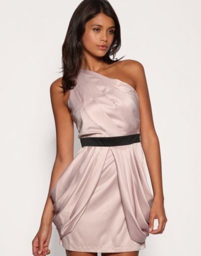 Suknie i sukienki SUKIENKA LIPSY LONDON TULIPAN ODKRYTE PLECY 34