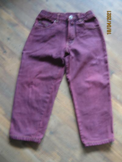 Spodnie i spodenki Dżinsy rozmiar 122
