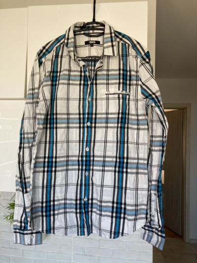 Koszule Asos koszula męska kratka