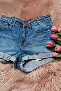 jeansowe spodenki Sinsay...