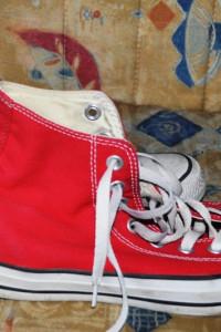 Buty Converse 39 czerwone wysokie