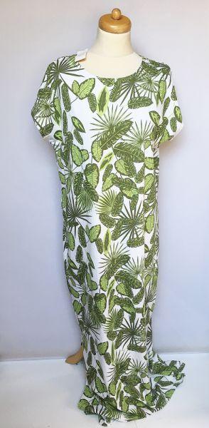 Suknie i sukienki Sukienka NOWA XL 42 Długa Maxi Long Tom&Rose Liście Palma Monstery
