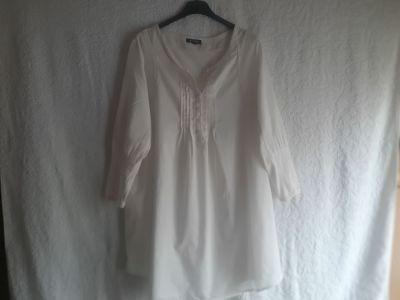 Tuniki Długa biała koszula tunika Vavite rozmiar 38