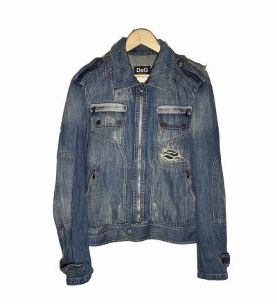 Odzież wierzchnia Katana kurtka jeansowa Dolce & Gabbana L