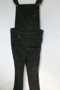 Ogrodniczki Dzinsowe Czarne Rurki Cubus Slim S 36 Jeans...