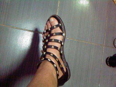 Sandały CCC wyjatkowe czarno zlote buty sandaly 36 37 OKAZJA