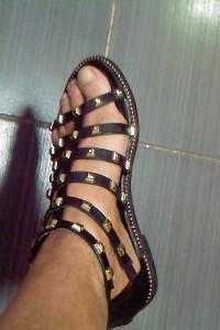 CCC wyjatkowe czarno zlote buty sandaly 36 37 OKAZJA...