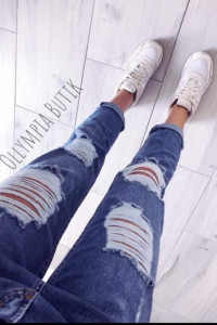 Nowe jeansy damskie Darmowa wysyłka