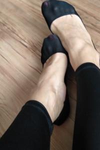 Stopki balerinki używane