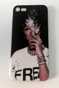 Case iPhone 7 8 SE 2020 Rihanna smoke stan BDB...