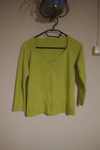 sweterek bluzeczka seledynowa rozm 40