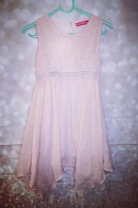Sukienka dla dziewczynki rozmiar 110 116...