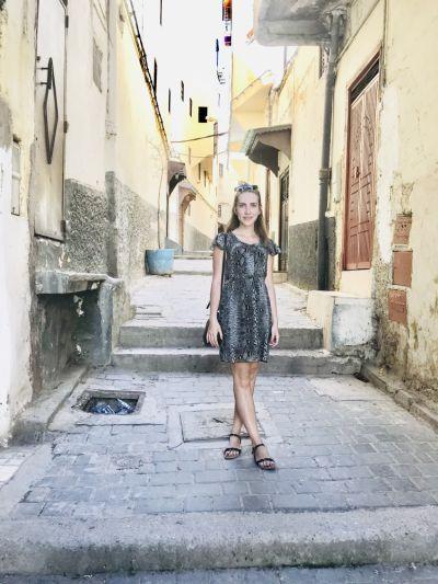 Suknie i sukienki Sukienka wężowy wzór 36 s