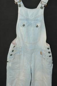 f Jeansowe spodnie ogrodniczki Soccx S...