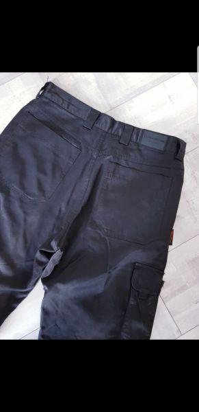 Spodnie Czarne męskie bojówki