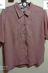 Koszula XXL mgiełka vintage elegancka wizytowa