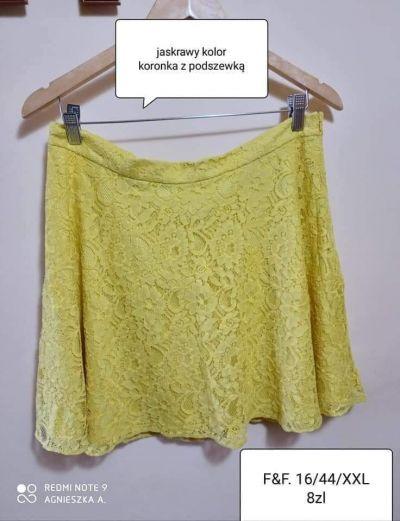 Spódnice Spódnica XXL koronkowa krótka