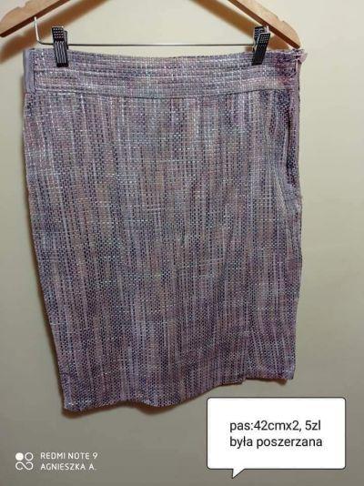 Spódnice Spódnica taliapas 42cmx2 elegancka wizytowa