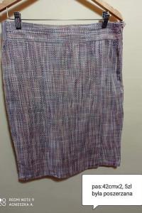 Spódnica taliapas 42cmx2 elegancka wizytowa