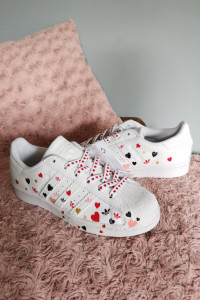 NOWE Adidas Superstar roz 36 23...
