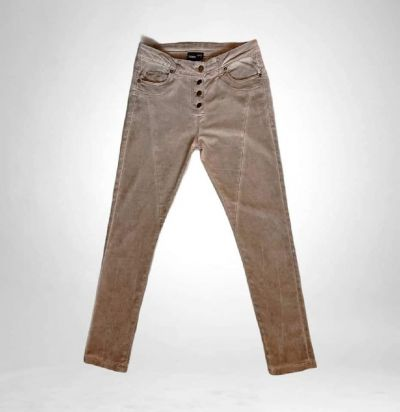 Spodnie Spodnie kolor brudny beż Janina