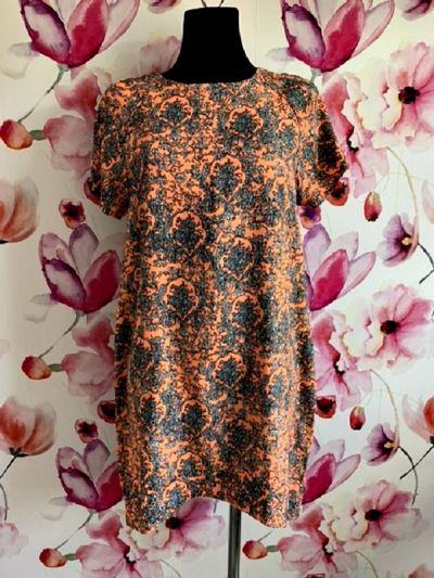 Suknie i sukienki apricot sukienka wyszczuplający wzór neonowa hit zip 40