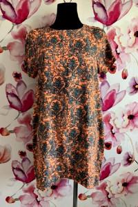 apricot sukienka wyszczuplający wzór neonowa hit zip 40...