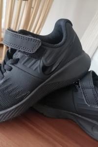 Buty nike 28 czarne na rzep...