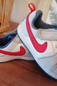 Buty nike 24 białe na rzep