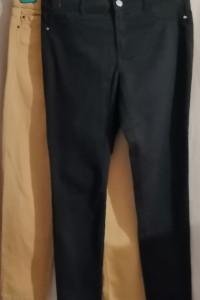 Granatowe jeansy Primark 40 żółte gratis...
