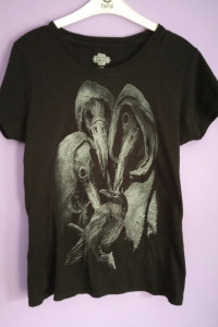 Koszulka Plague doctor doktor plagi koszulka z krukiem