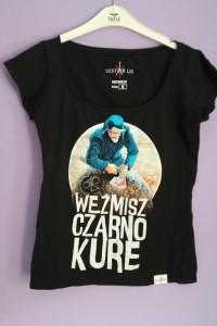 Koszulka Weźmisz czarno kure Jakub Wędrowycz