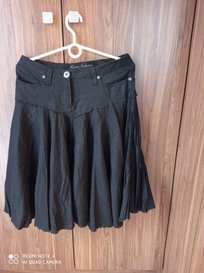 Spódnice Czarna letnia spódnica