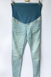 Spodnie Tregginsy H&M Mama M 38 Ciążowe Super Skinny...