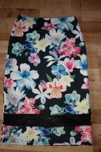 Spódnica floral XS S...