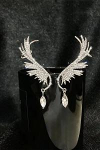 Kolczyki nausznice skrzydła anioła...