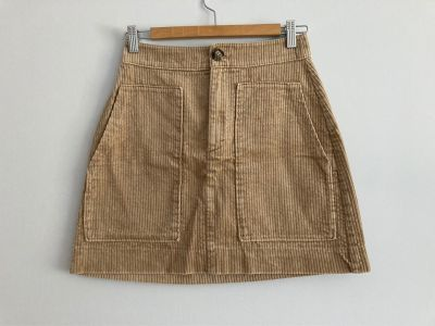 Spódnice spódnica sztruksowa h&m rozmiar 36