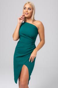 Sukienka z drapowaniem 34 36 38 40 42 44 46 KOLORY...