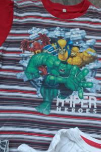 4 bluzeczki z bohaterami z bajek 9 110...