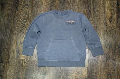 Bluzy Ciemna popiel bluza ciepła 98 104